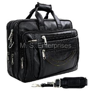 Hard Craft Faux Leather Executive Mens Premium Laptop Messenger Bag