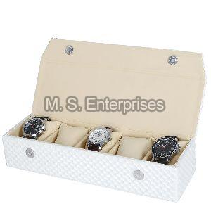 Hard Craft Watch Box Organizer for 5 Watch Slots