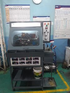 Chain Cleaning & Lubricating Machine