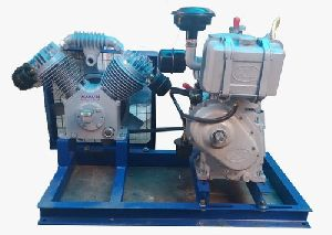 Borewell Compressor with Diesel Engine