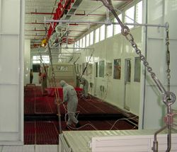 Wet Type Paint Booth