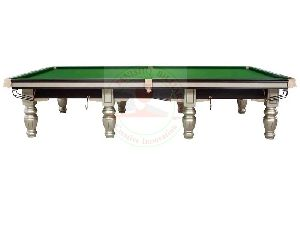 Steel Cushions Billiards Table