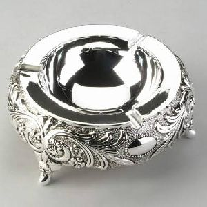 Silver Plated Ash Tray
