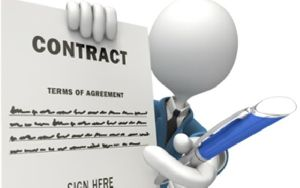 Civil Work Rate Contract
