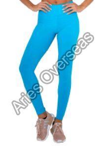 Plain Blue Leggings