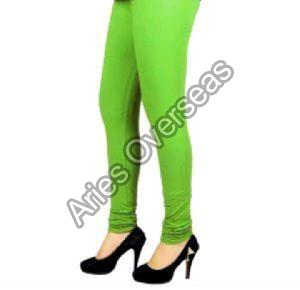 Plain Green Leggings