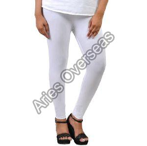 Plain White Leggings