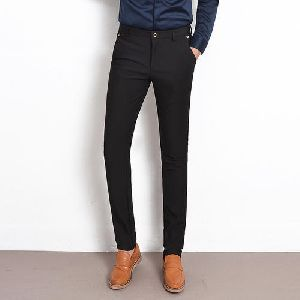 Mens Slim Fit Trousers