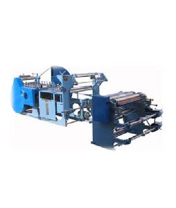Paper Bakery Bag Making Machine
