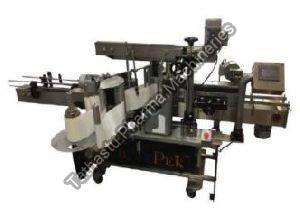 Automatic Front Back Bottle Sticker Labeling Machine