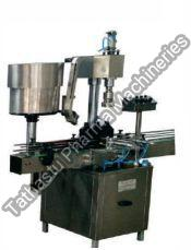 Single Head Linear Capping Machine