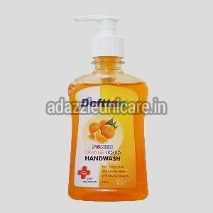 250ml Deftton Orange Hand Wash Liquid