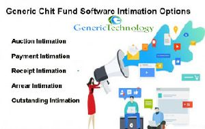 Generic Chit Fund Software Intimation Features
