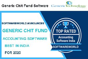 Software World Announces Generic Chit Fund Accounting Software Best in India For 2020