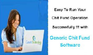 Using Generic Chit Fund Software