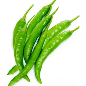 Fresh Spicy Green Chilli