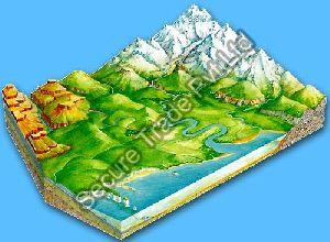 Landform Relief Maps