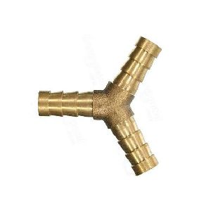 Brass Hose Y Connector