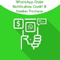 WhatsApp Order Notification Credit & Number Purchase