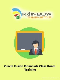 Oracle Fusion Financials Class Room Training Course