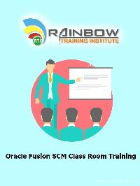Oracle Fusion SCM Class Room Training Course