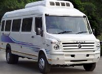 12 Seater Dulux Tempo Traveller Rental Service