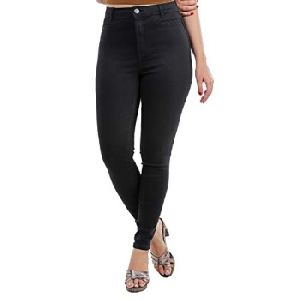 Ladies High Rise Jeans