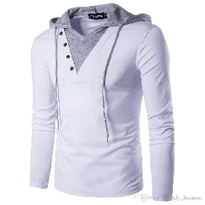 Mens Hooded T-Shirts