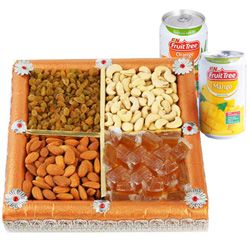 Combo of Dry Fruits Box with Beverages