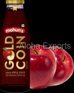 Mohuns Gold Coin Apple Juice