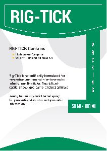 Rig-Tick Veterinary Supplement