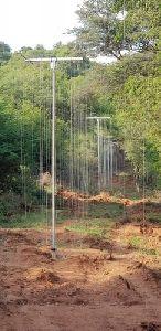 Hanging Solar Fence