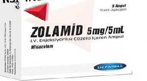 Zolamid 5mg Injection