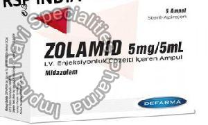 Zolamid 5mg/5ml Injection