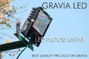 Aluminium Warm White 50W LED Flood Light