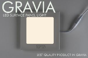 Cool White 6W LED Square Panel Light