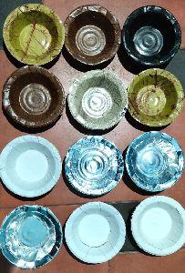 Disposable Silver Paper Dona - Bowl