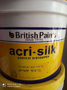 British Paints Acri Silk Acrylic Distemper