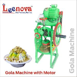 Motor Operated Gola Making Machine