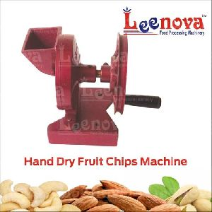 Hand Dry Fruit Chips Machine