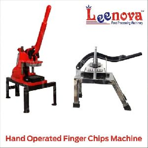 Hand Operated Finger Chips Machine