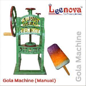 Manual Gola Making Machine