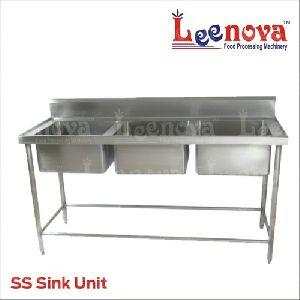 Three Bowl Sink