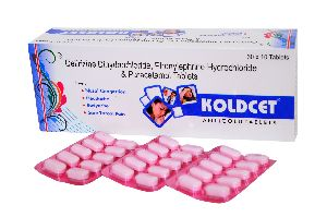 Koldcet Anti Cold Tablets