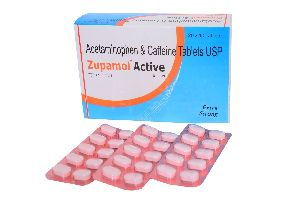 Zupamol Active Tablets