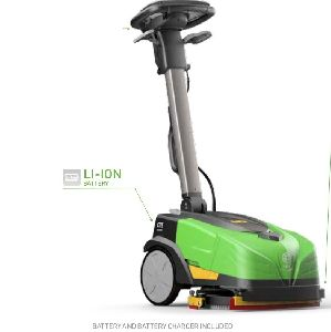 MINI FLOOR CLEANING MACHINE LITHIUM ION BATTERY OPERATED