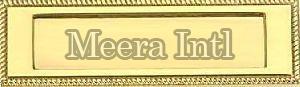 Brass Letter Plate
