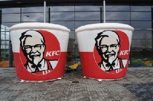 KFC BUCKET INFLATABLES