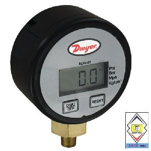 Brass Digital Pressure Gauge
