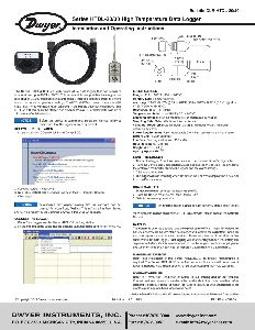 High Temperature Data Logger